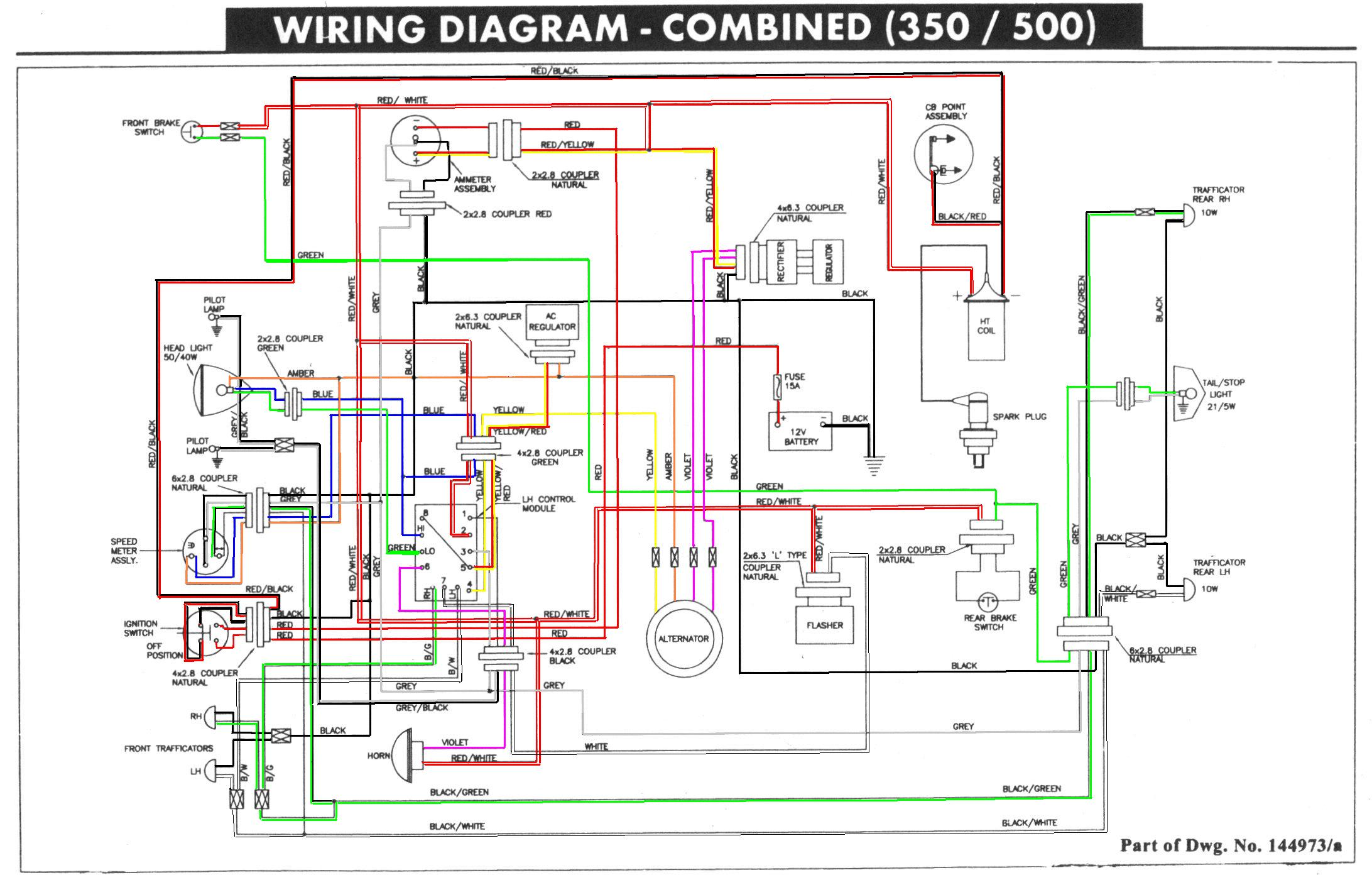 99-1/2 KS 500 wiring diagram?Unofficial Royal Enfield Community Forum